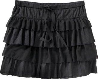 Old Navy Women's Chiffon-Trim Tiered Whirly Skirts