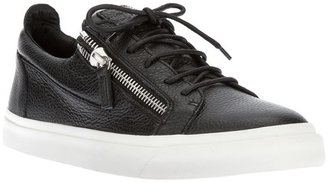 Giuseppe Zanotti Design zipped detailed sneakers