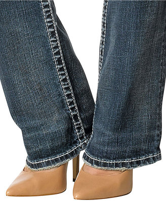 Silver Jeans Juniors Jeans, Suki Slim Bootcut Leg, Medium Wash
