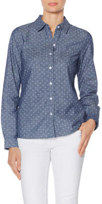 The Limited OBR Anchor Chambray Shirt
