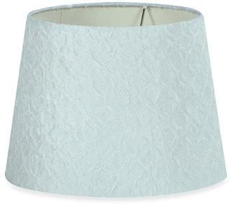 Stylecraft White Textured 9 1/4-Inch Fabric Shade