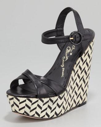 Alice + Olivia Sorell Wedge Sandal