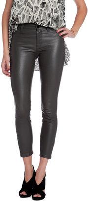 J Brand Leather Capri