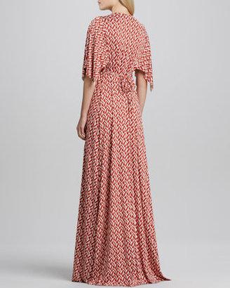 Rachel Pally Masala Labrynthe Full-Length Caftan Dress