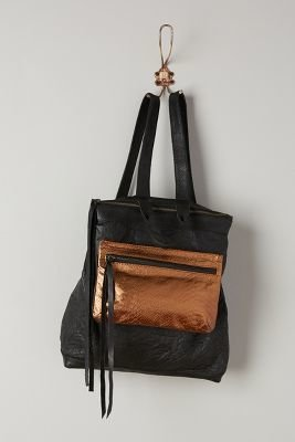 Cleobella Bronzed Pouch Backpack
