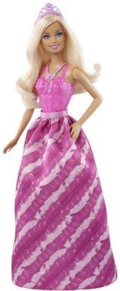 Barbie Fairytale Princess Fashion Doll, Pink and Purple