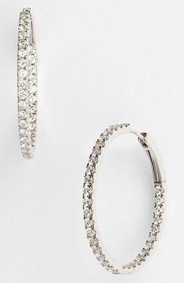Nordstrom Bony Levy Inside Out Diamond Hoop Earrings Exclusive)