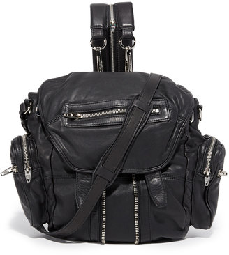 Alexander Wang Mini Marti Backpack $795 thestylecure.com