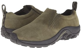 Merrell Jungle Moc (Gunsmoke Suede) Men's Slip on Shoes