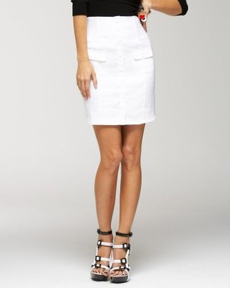 Bebe High Waisted Safari Skirt