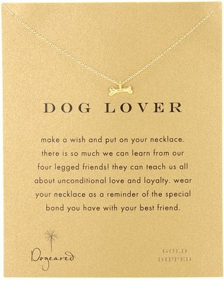 Dogeared Jewels Dog Lover 16 (Gold) - Jewelry