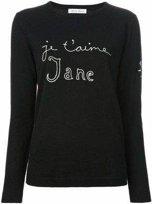 Bella Freud 'Je t'aime Jane' sweater