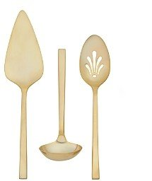 Wedgwood Vera Wang Polished Gold 3-Piece Serving Set