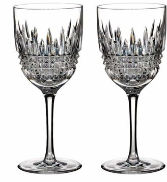 Waterford Lismore Diamond Goblet, Set of 2