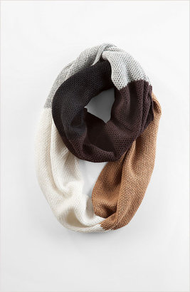 J. Jill Color block infinity scarf