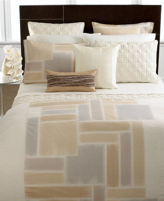 Hotel Collection CLOSEOUT!! Bedding, Brushstroke Full/Queen Duvet Cover