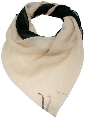 Giada Forte graphic print scarf