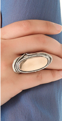 Pamela Love Two Tone Mood Ring with Bronze Center