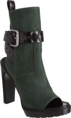 Proenza Schouler Woven Strap Open Toe Ankle Boot