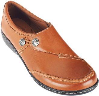 Clarks Collection Leather Slip-on Shoes Ashland Lane