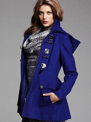 Victoria's Secret Hooded Duffle Toggle Coat