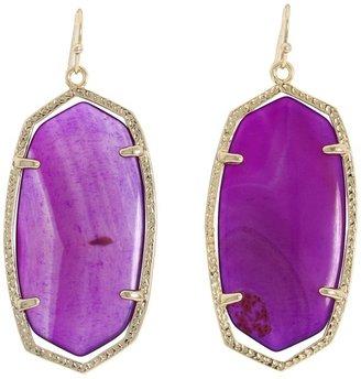 Kendra Scott Danielle Earrings (Black) - Jewelry