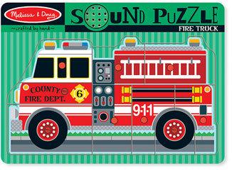 Melissa & Doug Toddler 'Sound' Puzzle