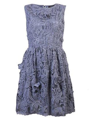 Suno Crochet lace dress