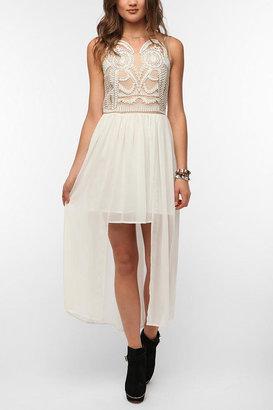 Athena Elliatt Embroidered High/Low Maxi Dress