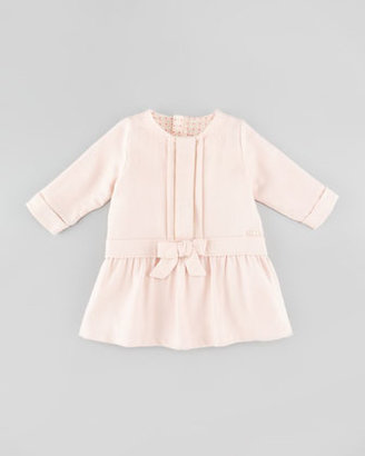 Chloé Twill Dress, Rose, 3-18 Months