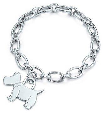 Tiffany & Co. Scottie tag Charm and bracelet