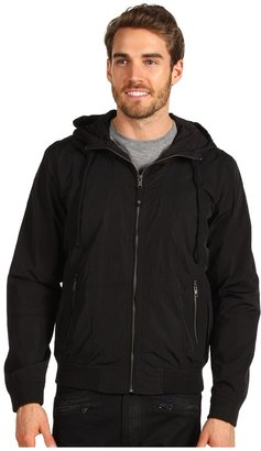 Calvin Klein Jeans Garment Dye Nylon Jacket (Black) - Apparel