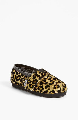 Toms 'Classic Tiny - Glitter' Print Slip-On (Baby, Walker & Toddler)(Nordstrom Exclusive)