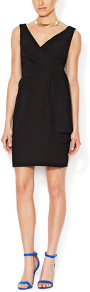 Shoshanna Ronnie Pleated Sheath Dress