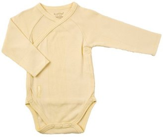 Kushies Everyday Layette Wrap Long Sleeve Bodysuit