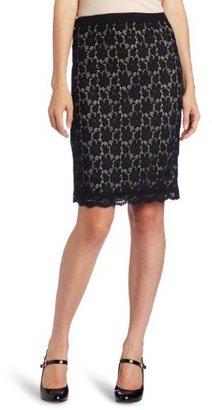 My Michelle Juniors Lace Pencil Skirt