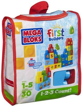 Mega Bloks First Builders 1-2-3 Count!