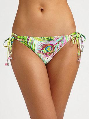 Nanette Lepore Central Park String Bikini Bottom