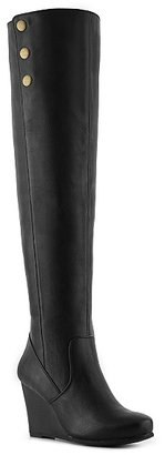 Chinese Laundry Verano Over the Knee Wedge Boot