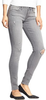Old Navy Women's The Rockstar Mid-Rise Distressed Jeans