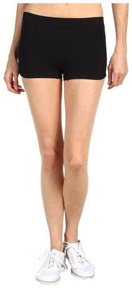 adidas by Stella McCartney SL Performance Hot Pant X59137 (Black/Gravel Grey) - Apparel