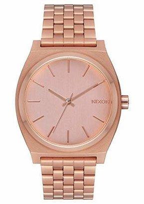 Nixon Time Teller Women's Watch (37mm. Face & Rose Gold Metal Band)