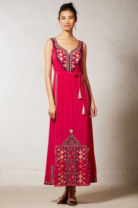 Anthropologie Dayak Maxi Dress