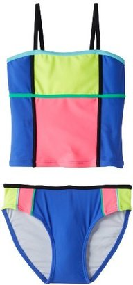 Gossip Girl Girls 7-16 Color Pops Two Piece Tankini