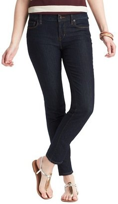 "LOFT Modern Skinny Ankle Jeans in Dark Rinse Wash with 29"" Inseam"