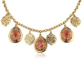 """Carolee Charm Necklace, 18"""""""