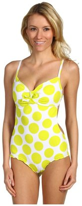 Vitamin A Sweetheart One-Piece (Lemon Drops) - Apparel