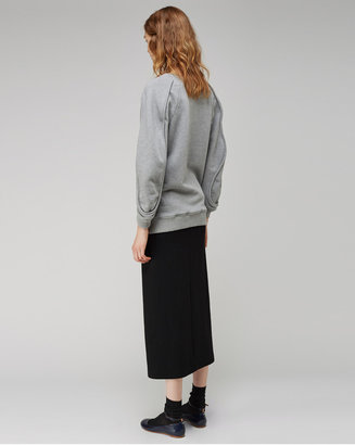 Chalayan Grey Line / bulge sweater