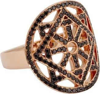 Black Diamond Pamela Love Fine Jewelry & Rose Gold Arch Ring