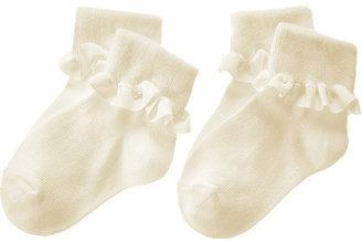 Gymboree Ruffle Foldover Sock Two-Pack
